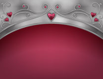 Red Valentine card Stock Images