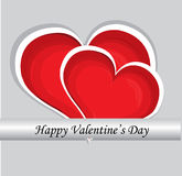 Red valentine day heart Royalty Free Stock Image