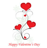 Red valentine day heart Royalty Free Stock Images