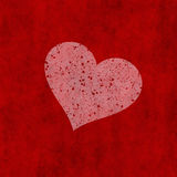 Red valentine heart Royalty Free Stock Images