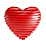 Red valentine heart Royalty Free Stock Image