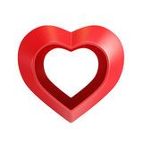 Red valentine heart Stock Photo