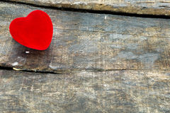 Red Valentine heart Royalty Free Stock Photos