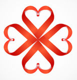 Red Valentine Heart. Vector Stock Photos