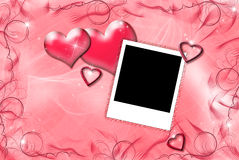 Red Valentine Hearts Royalty Free Stock Photo