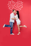 Red valentine love Stock Photography