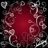 Red valentine's background Royalty Free Stock Image