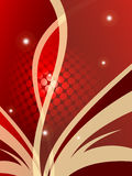 Red valentine's day backdrop Royalty Free Stock Photo