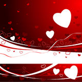 Red Valentine's day Background Stock Photos