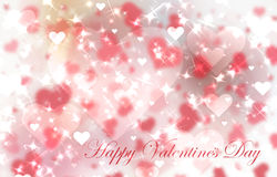 Red valentine's day background Royalty Free Stock Photography