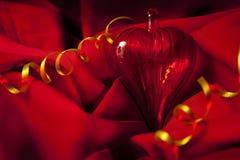 Red Valentine's Day hear Stock Photo