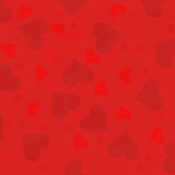 Red Valentine's Day Hearts wallpaper Royalty Free Stock Photo
