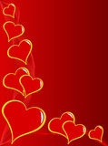 Red Valentines Background Royalty Free Stock Photos