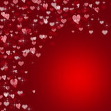 Red valentines day background Royalty Free Stock Images
