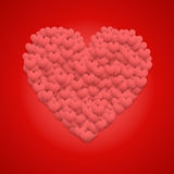 Red Valentines day background Royalty Free Stock Photos