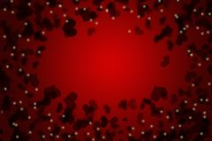 Red valentines day background for input text Royalty Free Stock Image