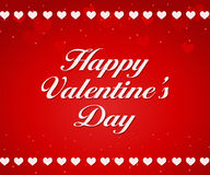 Red Valentines Day background Stock Image