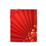 Red Valentines Day Banner Royalty Free Stock Photo