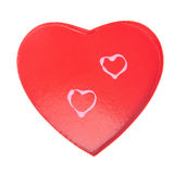 Red Valentines heart Royalty Free Stock Images