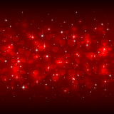 Red Valentines hearts Royalty Free Stock Image