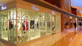 Red valentino retail apparel store Stock Image
