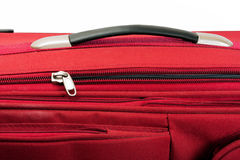 Red valise Royalty Free Stock Image
