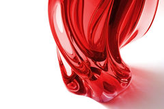 Red vase Royalty Free Stock Photography