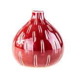 Red vase Royalty Free Stock Images