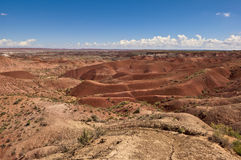 Red Vastness of the Painted Desert Royalty Free Stock Photo