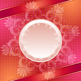 Red vector abstract background Royalty Free Stock Photography