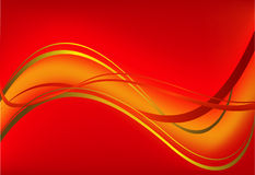Red vector background Royalty Free Stock Photos