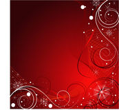 Red vector Christmas design Royalty Free Stock Photos