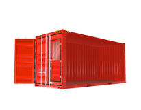 Red Vector Container Royalty Free Stock Photos