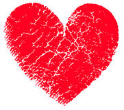 Red vector heart Royalty Free Stock Photos