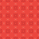Red vector seamless geometric pattern Royalty Free Stock Photography