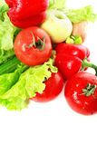 Red vegetables Stock Images