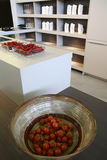 Red vegetables in kitchen Royalty Free Stock Photography