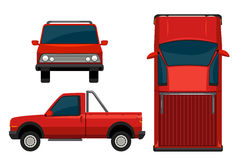 A red vehicle Stock Photography