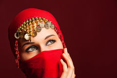 The red veil Stock Photos