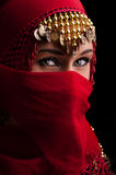 The red veil Royalty Free Stock Photography