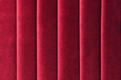 Red Velvet. Background with wrinkles Stock Photos