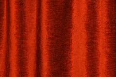 Red velvet. Velour curtain of the red colour. Stage theater background Stock Image