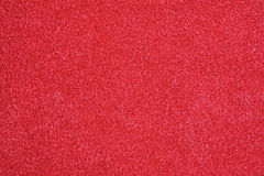 Red velvet. Fabric, full frame, close-up Royalty Free Stock Photography