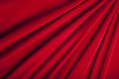 Red Velvet Background Stock Photography