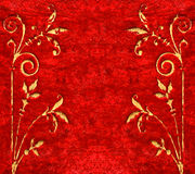 Red velvet background Royalty Free Stock Images