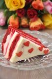Red velvet cake Stock Photography