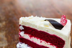 Red velvet cake Stock Photography
