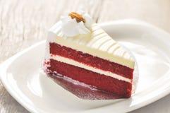 Red velvet cake Royalty Free Stock Photo