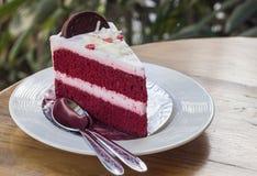 Red velvet cake Stock Image