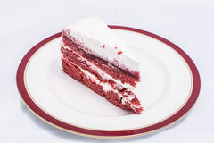 Red velvet cake Royalty Free Stock Photography